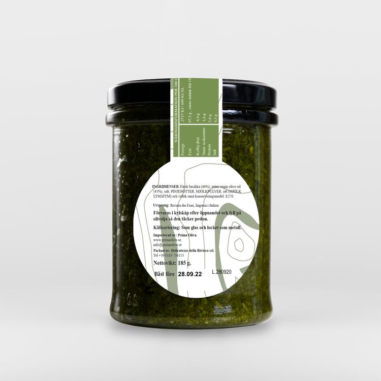 Pesto i Extra Virgin Olivolja