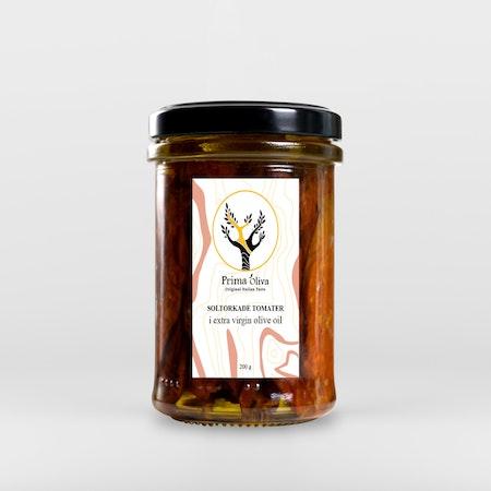 Sol Torkade Tomat i Extra Virgin Olivolja