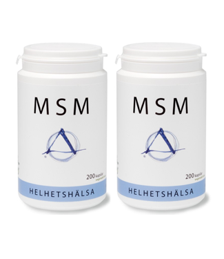 Helhetshälsa MSM kapslar