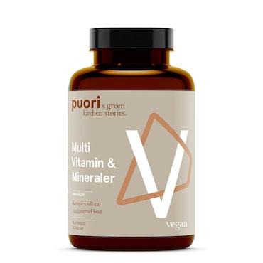 Puori VM Multi Vitamin & Mineraler, 60 kapslar