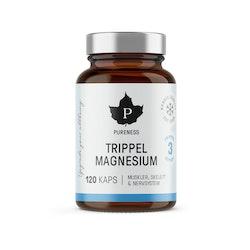 Trippel Magnesium, 120 kapslar