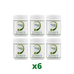 6-Pack TerniCOL 100% Colostrum Pulver, 70g