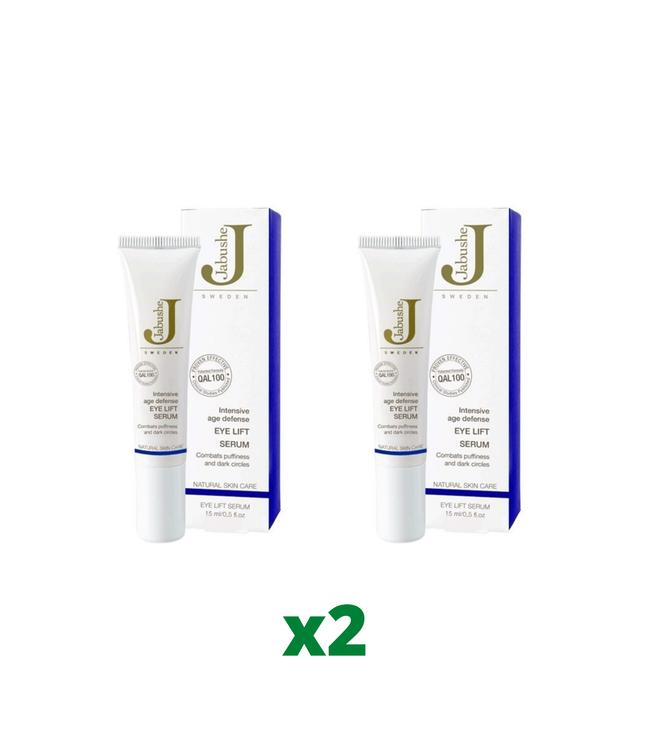 2 x Jabushe Eye Lift Serum Ögonkräm, 15ml