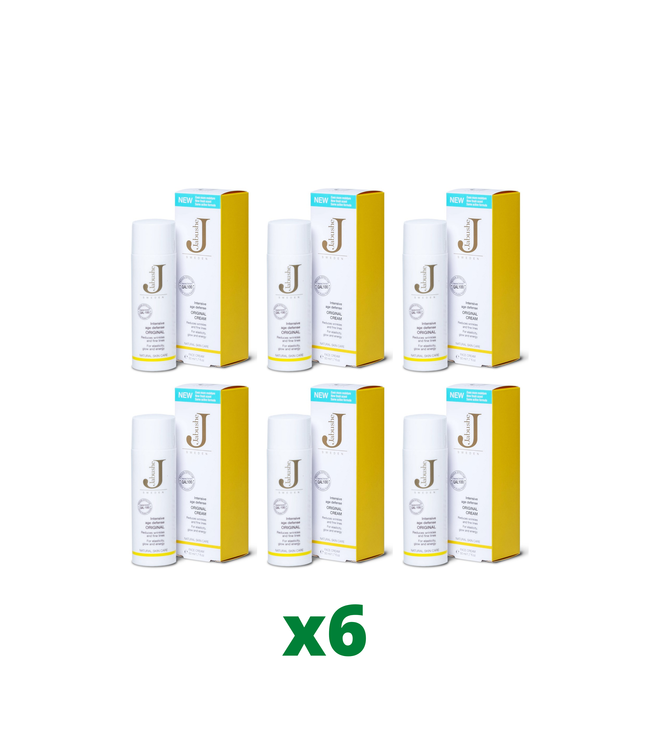 6 x Jabushe Original Cream, 50ml