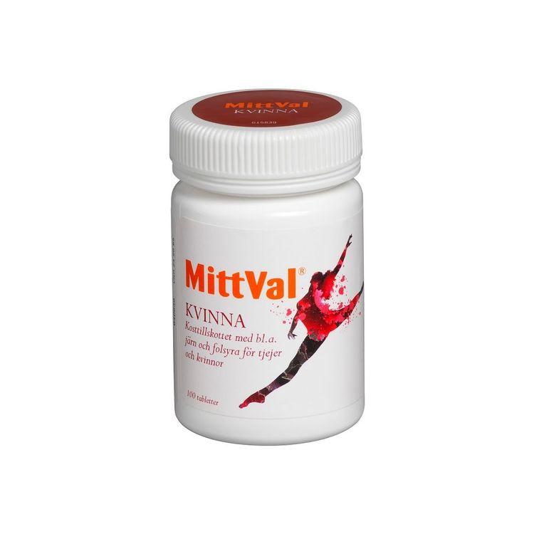 MittVal Kvinna, 100 tabletter
