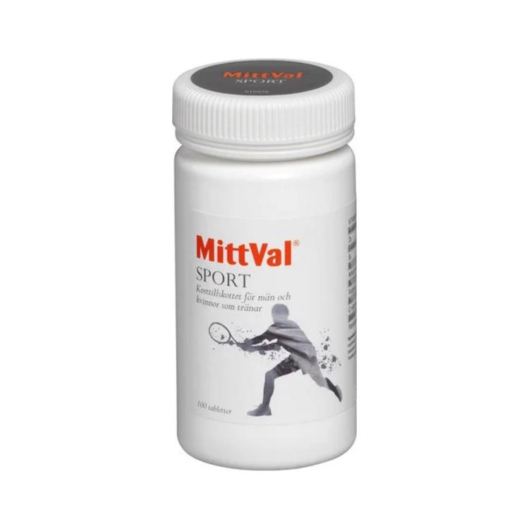 MittVal Sport, 100 tabletter