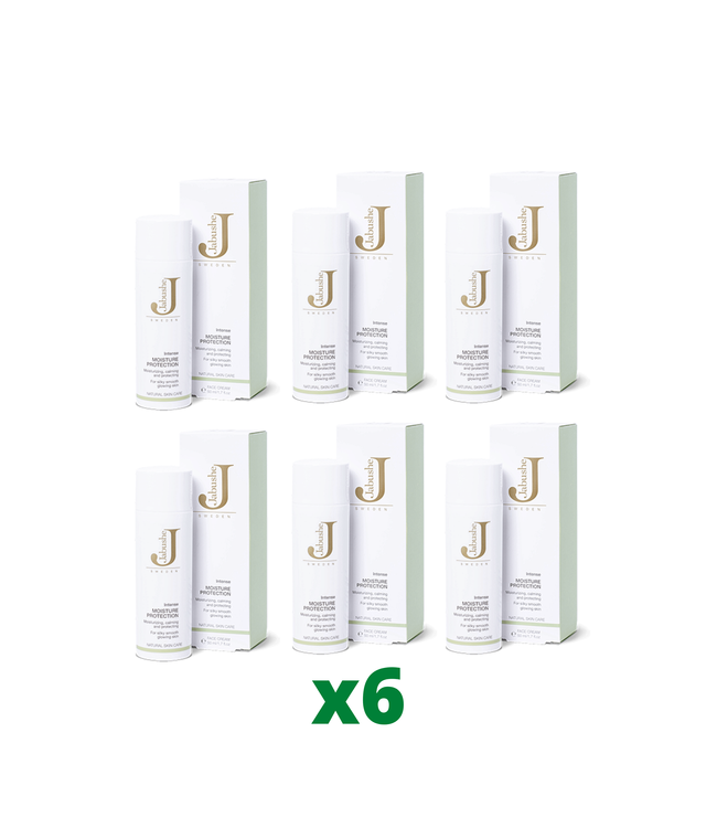 6 x Jabushe Intense Moisture Protection, 50ml
