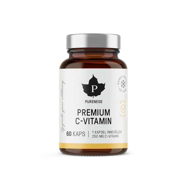Pureness Premium C-Vitamin, 60 kapslar