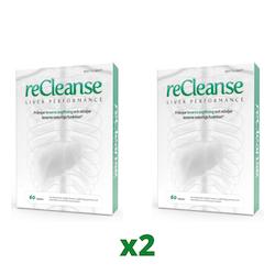 2 x reCleanse, 60 tabletter