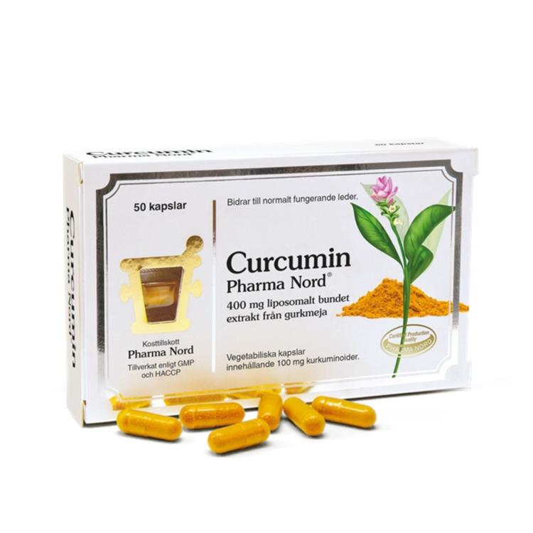 Pharma Nord Curcumin, 50 kapslar