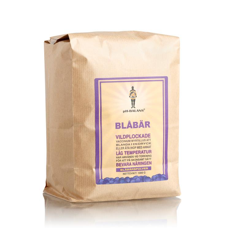 pH-Balans Blåbärspulver, 1 kg