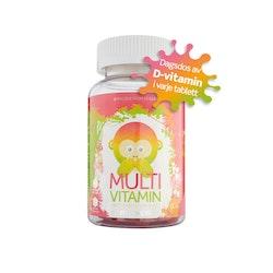 Monkids Multivitamin, 60 tuggtabletter