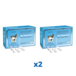 2 x Pharma Nord Bio-Magnesium,150 tabletter