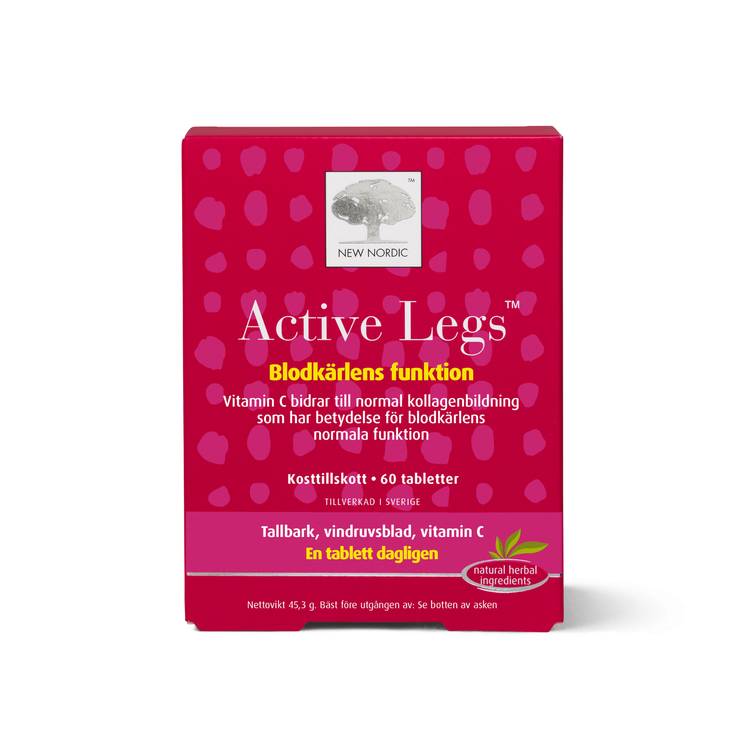 New Nordic Active Legs, 60 tabletter
