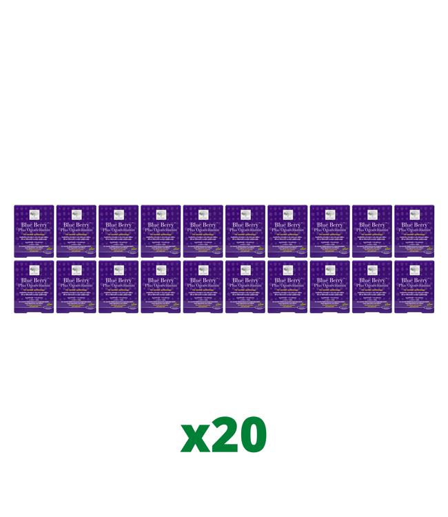 20 x Blue Berry Plus Ögonvitamin, 120 tabletter