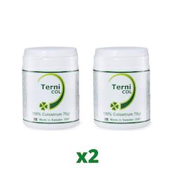 2 x TerniCOL 100% Colostrum Pulver, 70g