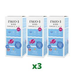 3 x Eskio-3 Kids, 210ml