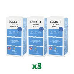 3 x Eskio-3 Pure, 210ml