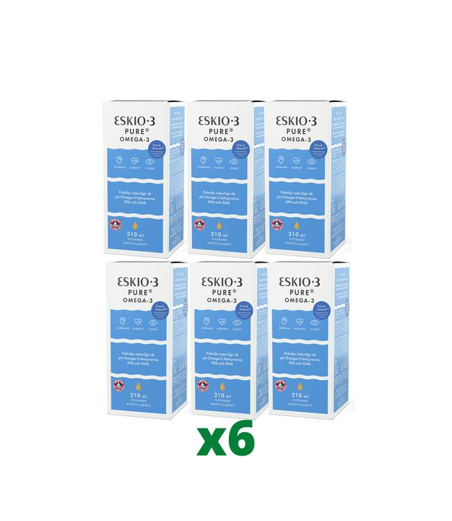6 x Eskio-3 Pure, 210ml