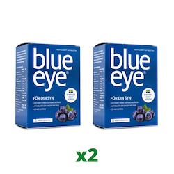 2 x Elexir Blue Eye, 64 tabletter