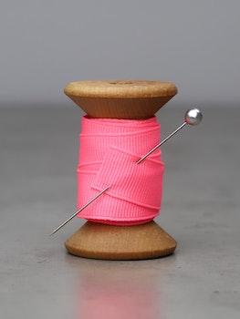 Ribbat band neon rosa