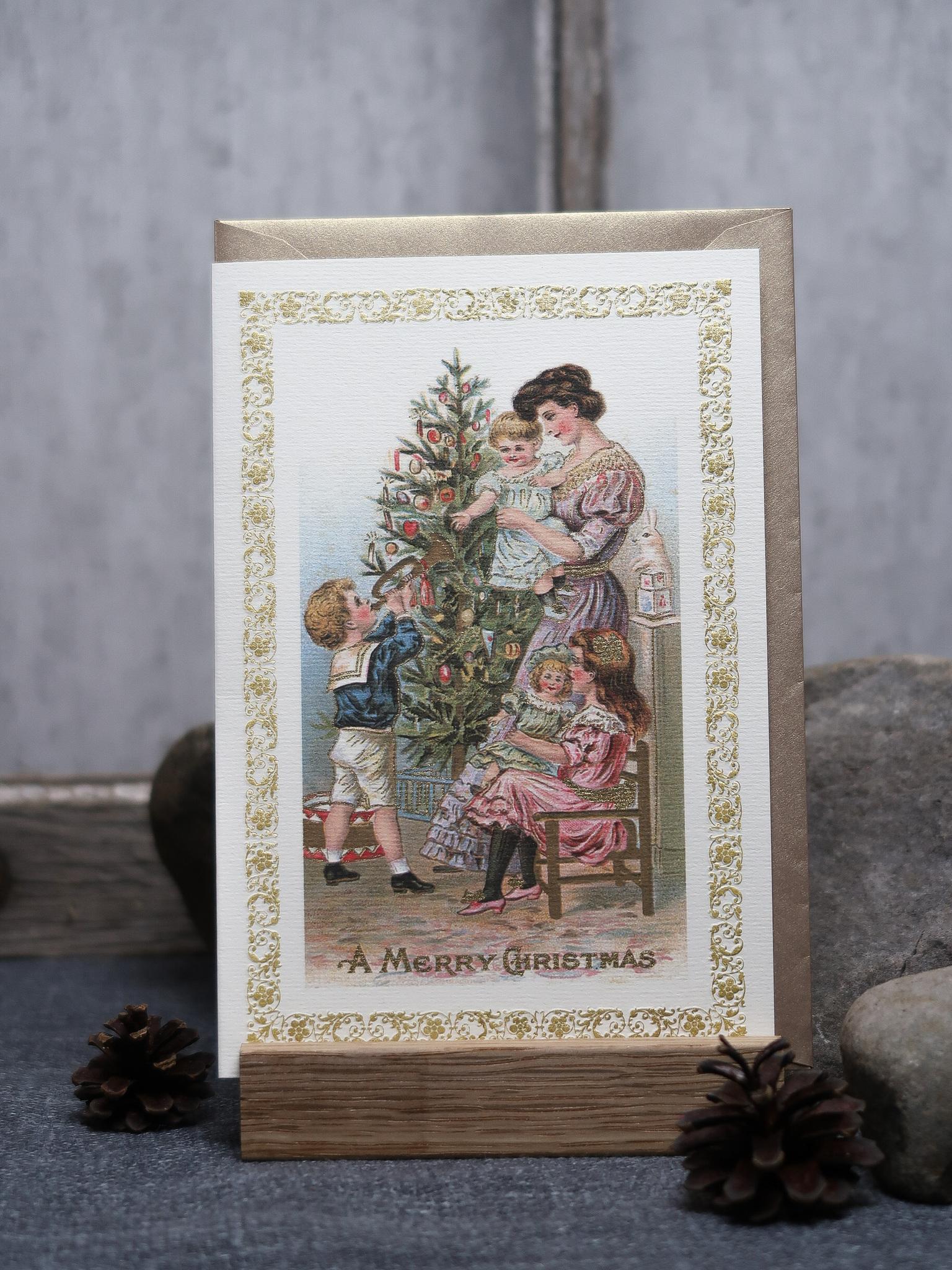 NYHET! Julkort familj