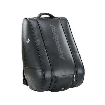 BULLPADEL CASUAL LEATHER BACKPACK ALL BLACK