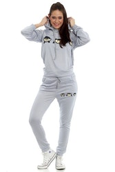 Stella Tracksuit Grey With Zippers