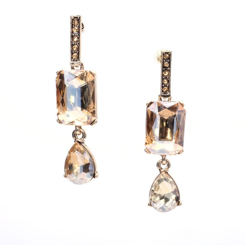 Stella Champagne Earrings
