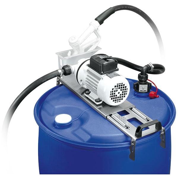 Adblue pump med slang och handtag