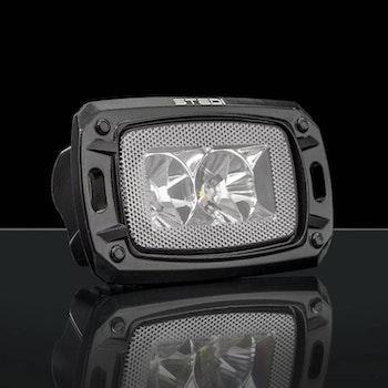 STEDI 10W Mini LED - Lång ljusbild