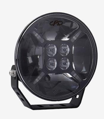 "LED EXTRALJUS 9"" 120W med positionsljus"