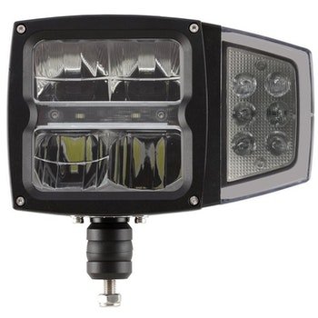 Huvudstrålkastare/Ploglampa med blinkers
