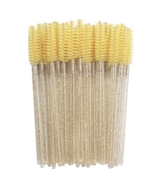 Glitter Mascara Brush Gold