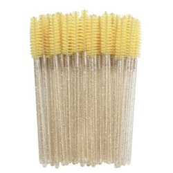 Glitter Mascara Brush Gold