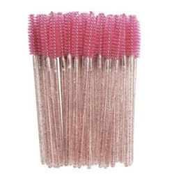 Glitter Mascara Brush Rose