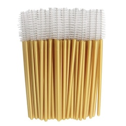 Golden White Mascara Brush