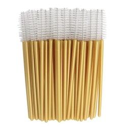 Golden White Mascara Brush