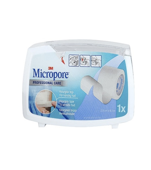 Micropore kirurgisk bred