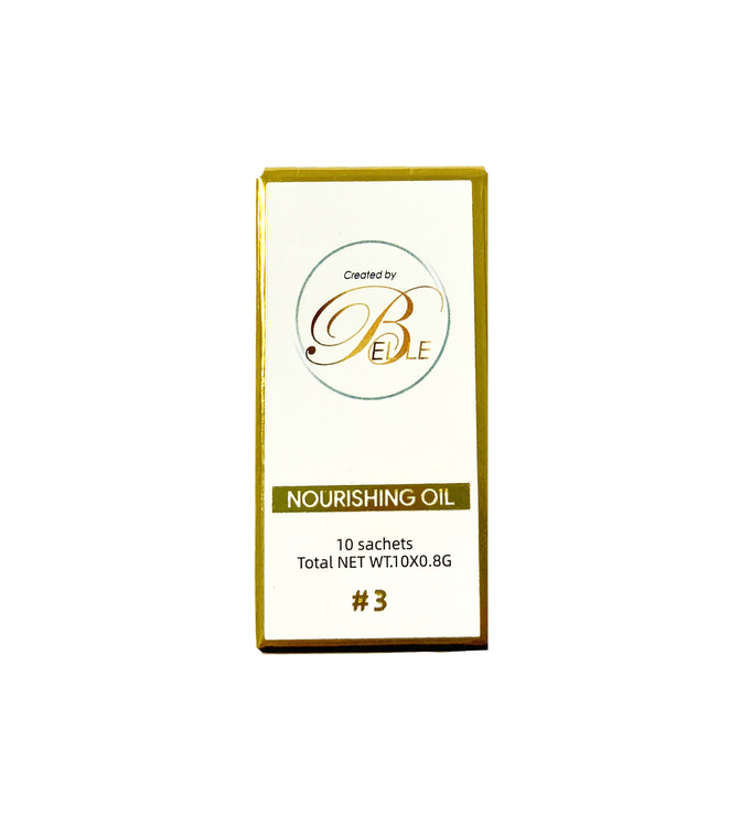 Lash/Brow Lift Sachets Nourishing Oil, Step 3