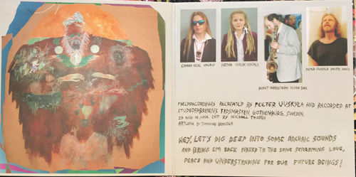 "PEETER UUSKYLA WITH BENGT NORDSTRÖM Winged Body (Omlott - Sweden original) (NM) LP+7"""