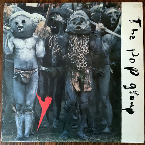 POP GROUP, the Y (Incl poster) (Radar - UK original) (VG+) (NWW List) LP