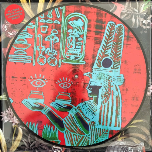 "AL LOVER MEETS CAIRO LIBERATION FRONT Nymphaea Caerulea EP (Höga Nord - Sweden original) (NEW) PIC 12"" EP"