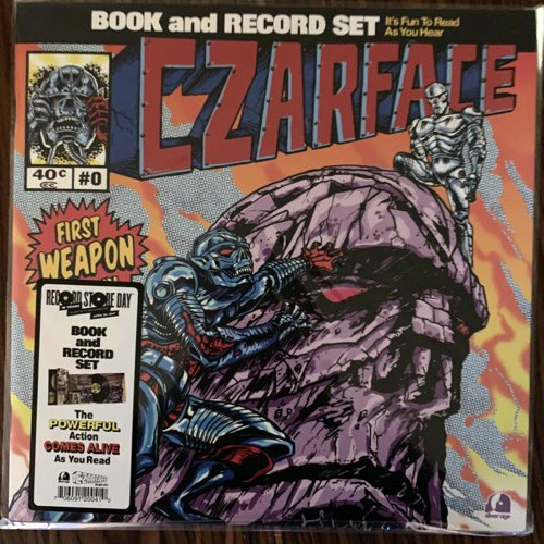 CZARFACE First Weapon Drawn (A Narrated Adventure) (Silver Age - USA original) (EX/NM) LP