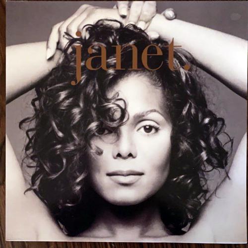 JANET JACKSON Janet (Virgin - UK original) (EX/VG+) 2LP