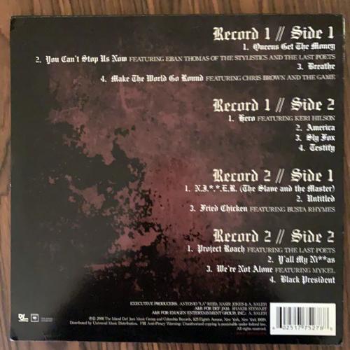 NAS Untitled (Def Jam - USA original) (VG+) 2LP