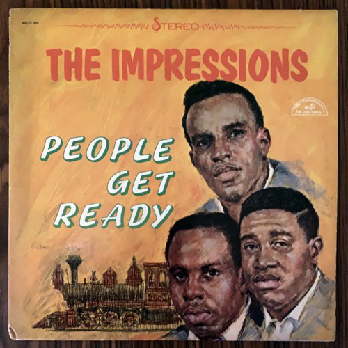 IMPRESSIONS, the People Get Ready (ABC - USA 70's reissue) (VG+) LP