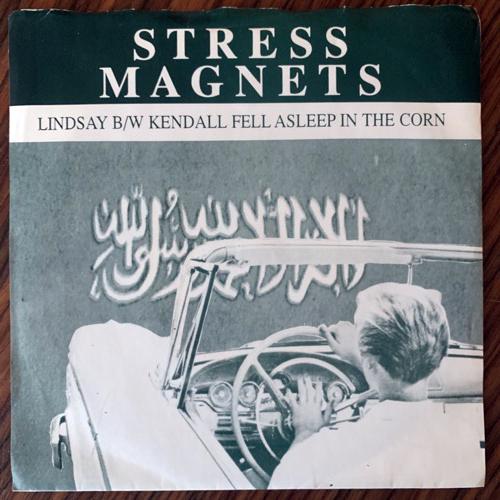 """STRESS MAGNETS Lindsay (Go-Kart - USA original) (VG+) 7"""""""