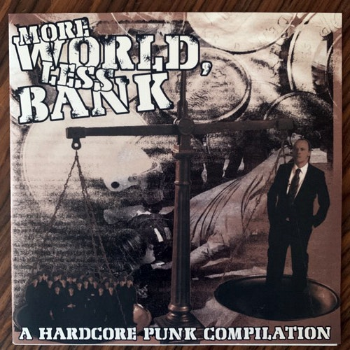 VARIOUS More World, Less Bank (Halvfabrikat - Sweden original) (NM) 7""
