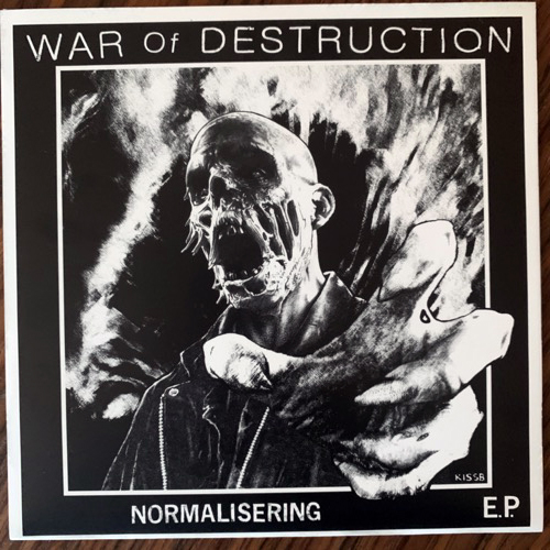 WAR OF DESTRUCTION Normalisering E.P. (Hjernespind - Denmark original) (NM/EX) 7""